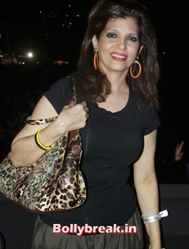 Beena Aziz, Page 3 Babes at Sunburn Arena DJ AVICII Concert
