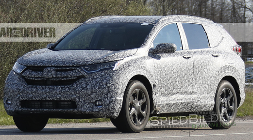 2020 Honda Cr V Spied Review Cars Auto Express New And Used Car
