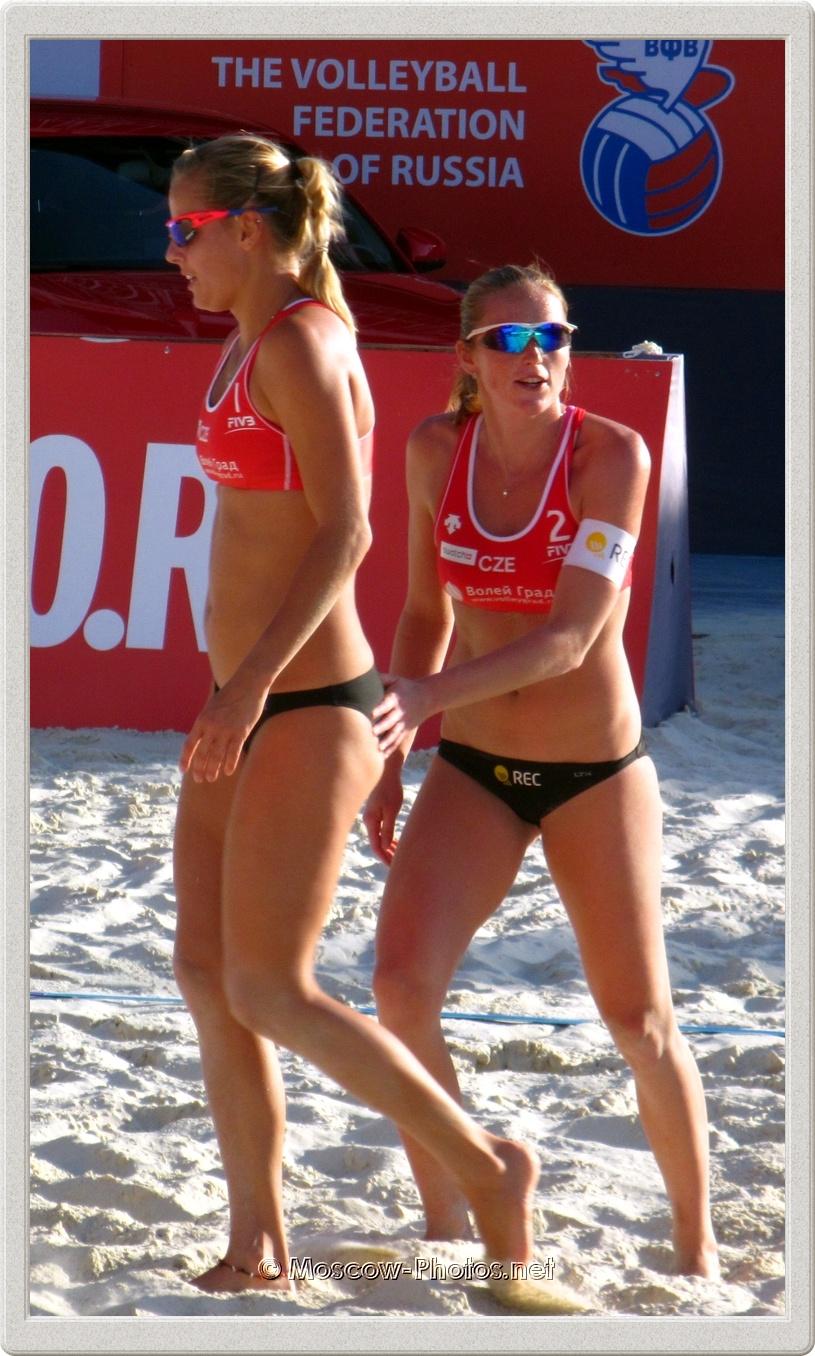 Marketa Slukova & Kristyna Kolocova in Moscow