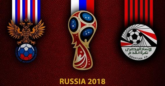 موعد ومعلومات والقنوات الناقلة لمباراة مصر وروسيا كأس العالم 2018