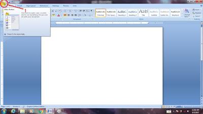 Mengatur Otomatis Huruf Kapital Besar Awal Paragraf Di Ms. Word 2007