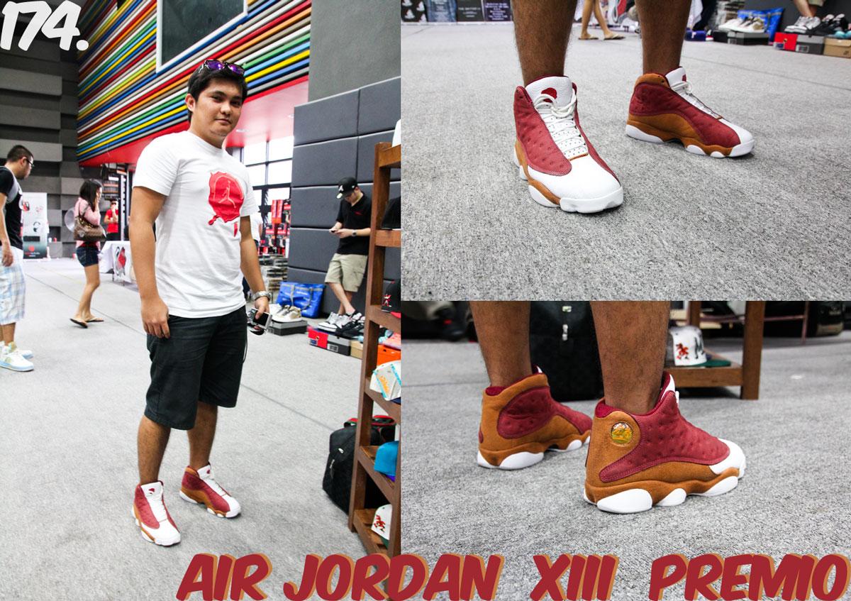 the latest e3ed2 73886 ... where to buy air jordan xiii premio bin 23 collection team red desert  clay white 1ffc5