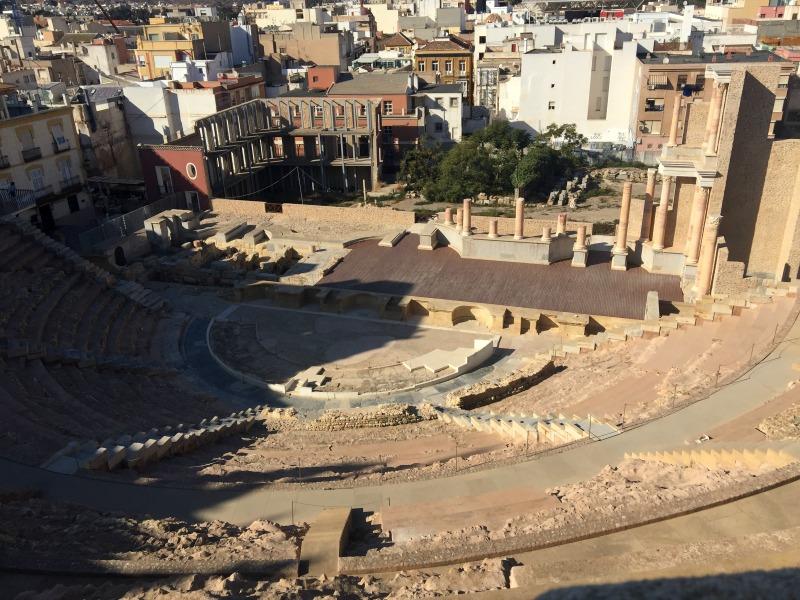 Teatro Romano in Cartagena Spain