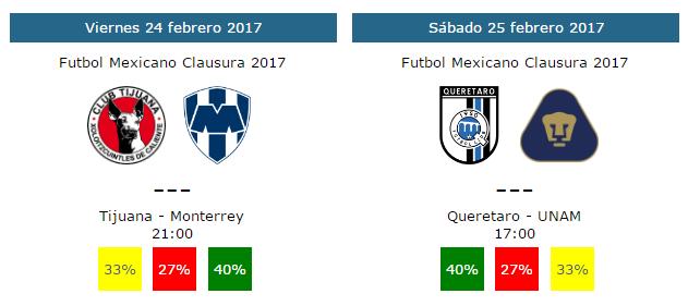 Tendencias y pronósticos para la jornada 8 del futbol mexicano