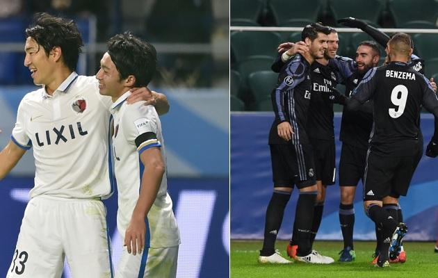 Real Madrid vs Kashima Antlers en vivo
