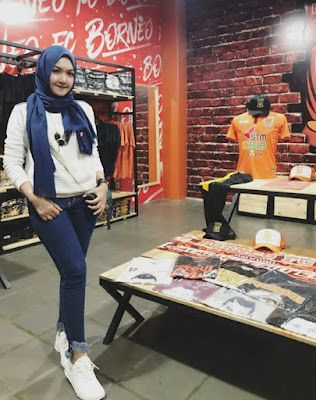 model hijab sporty terbaru