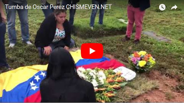 Todo muy raro en el entierro del supuesto cadáver de Oscar Perez