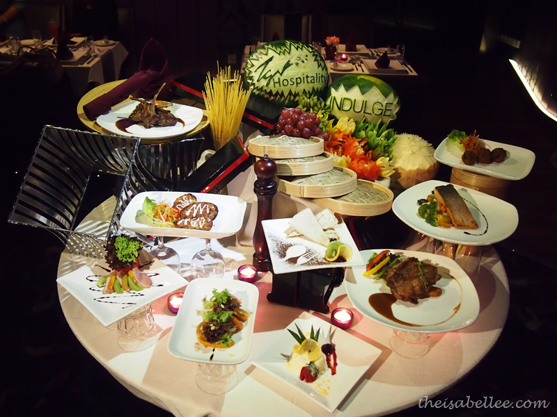 TGV Indulge food tasting