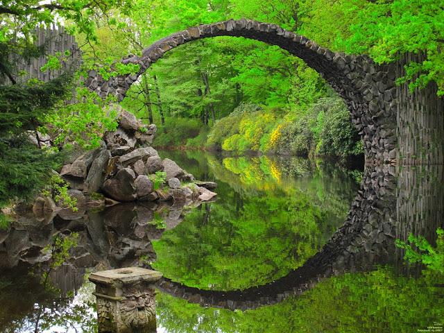 Rakotzbrucke, Jembatan Setan yang Menawan dan Sarat Legenda