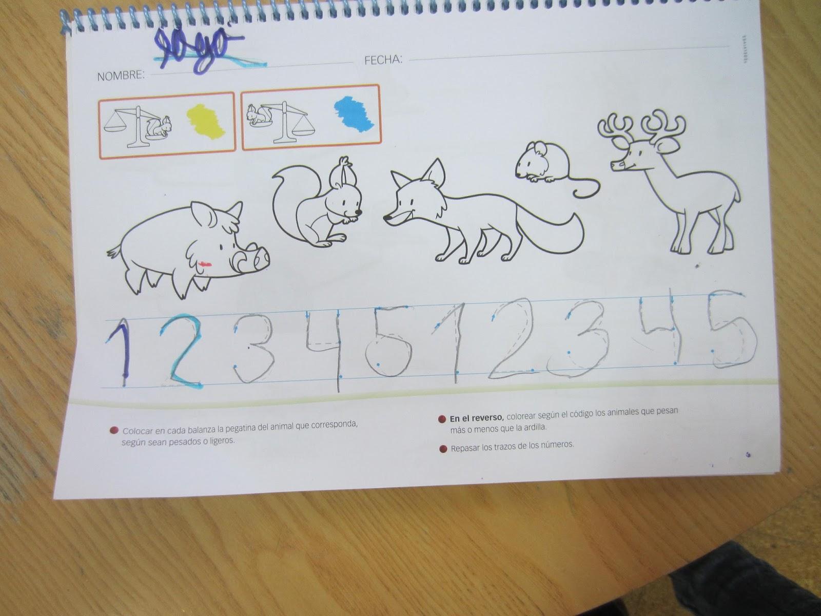 Blog De Patri Educación Infantil Cuánto Pesa