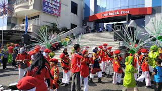 Semarak Festival Drum Band dan Fashion Road dalam Rangka Memeriahkan HUT Kota Pontianak ke-246