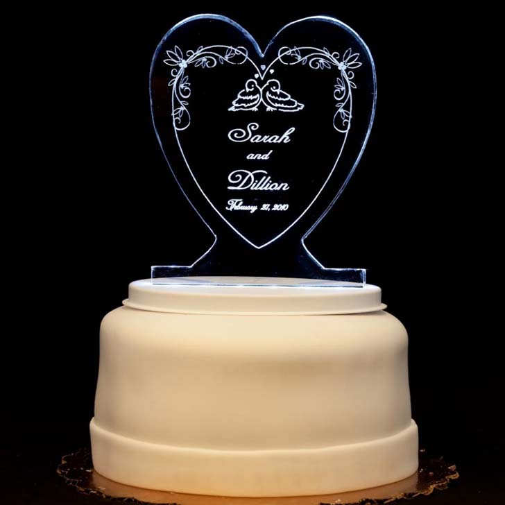 Wedding Cake Topper 70 Epic Heart Shaped Wedding Cake