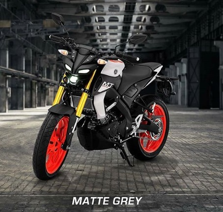 Yamaha MT 15 Matte Grey