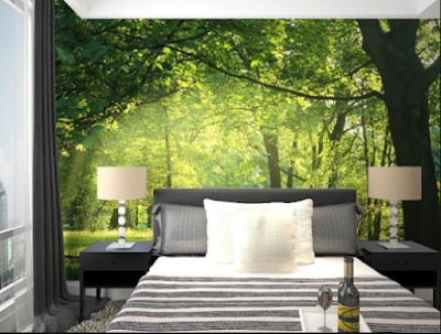 Inspirasi Motif Wallpaper Kamar Tidur Yang Bikin Tidur Anda  Lelap 6
