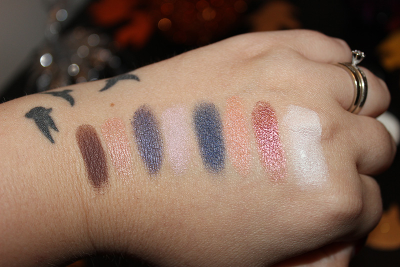 Youngblood Eyeshadow Duo Swatches Holiday 2015