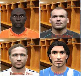 PES 2016 Classic Face Pack Arsenal by HitmanVn