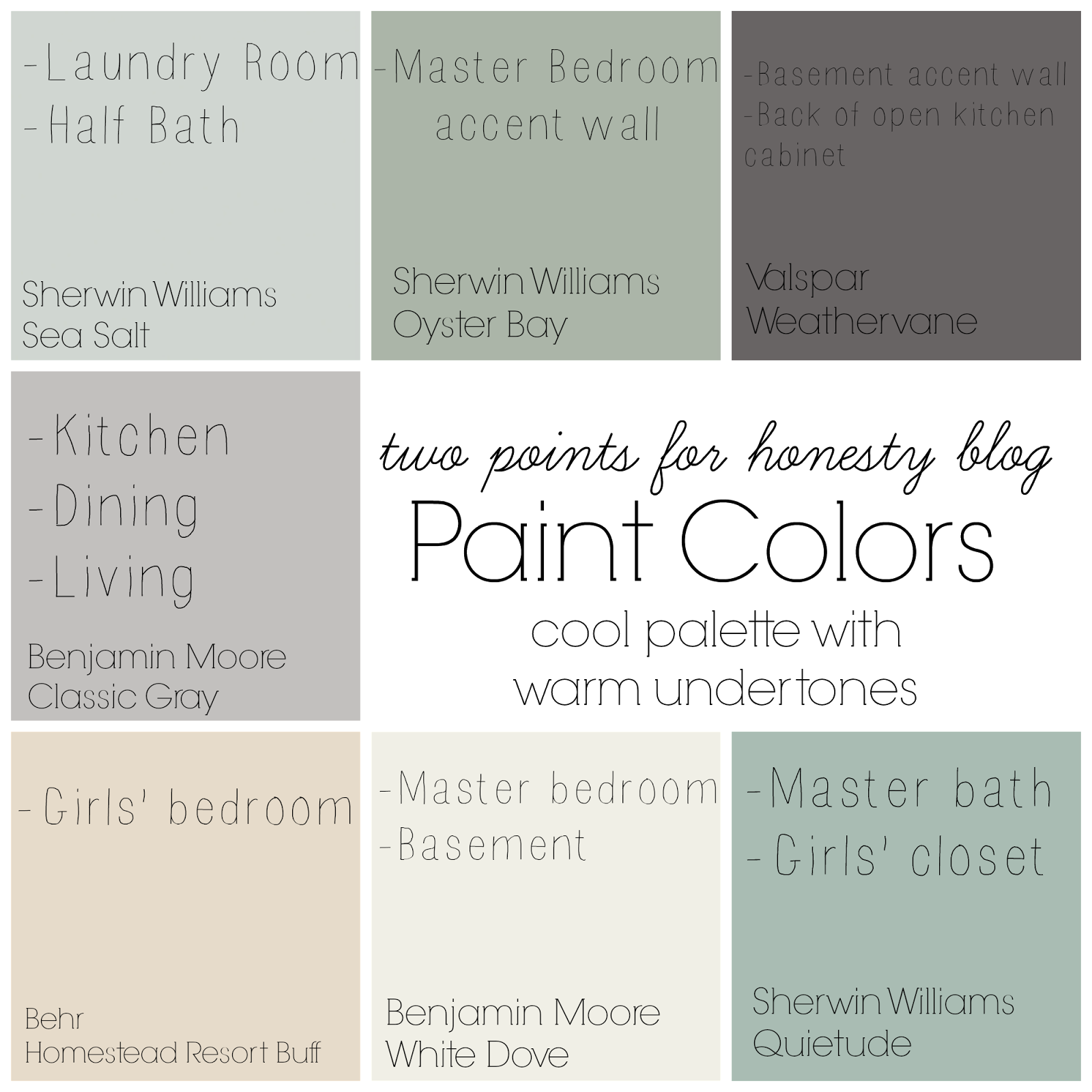 A Good Way To Get Started With Creating Whole House Palette Is Check Out The Paint Manufacturers Website Like Valspar Benjamin Moore Etc