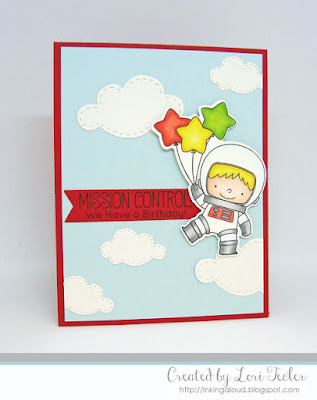 Mission Control card-designed by Lori Tecler/Inking Aloud-stamps from My Favorite Things