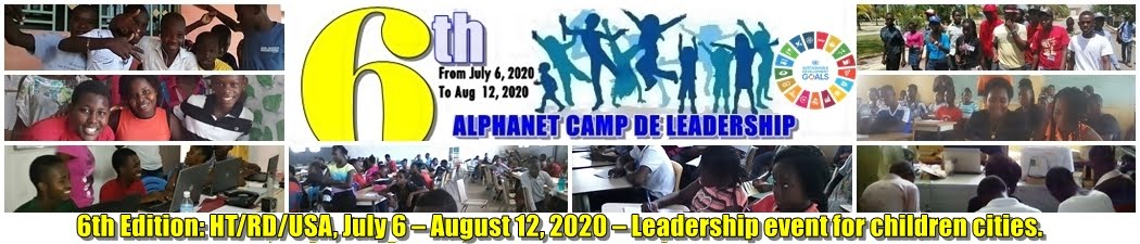 6th Edition|International Camp of Leadership Sciences and Tech for Children - LCamp2020 - Alphanet