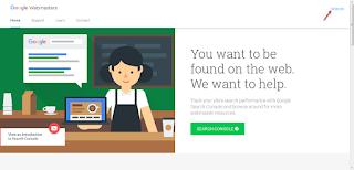 Akun Google Webmaster Tools