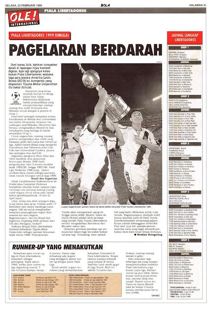 PIALA LIBERTADORES 1999 PAGELARAN BERDARAH