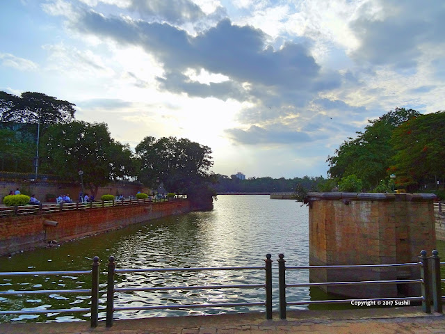 Beautiful Evening View of Sankey Tank, Bangalore