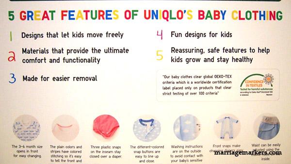 Uniqlo kidswear