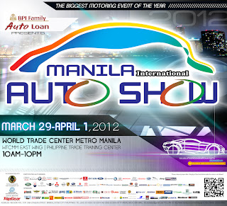 Drive To A Whole New Level At The Manila International Auto Show 2012