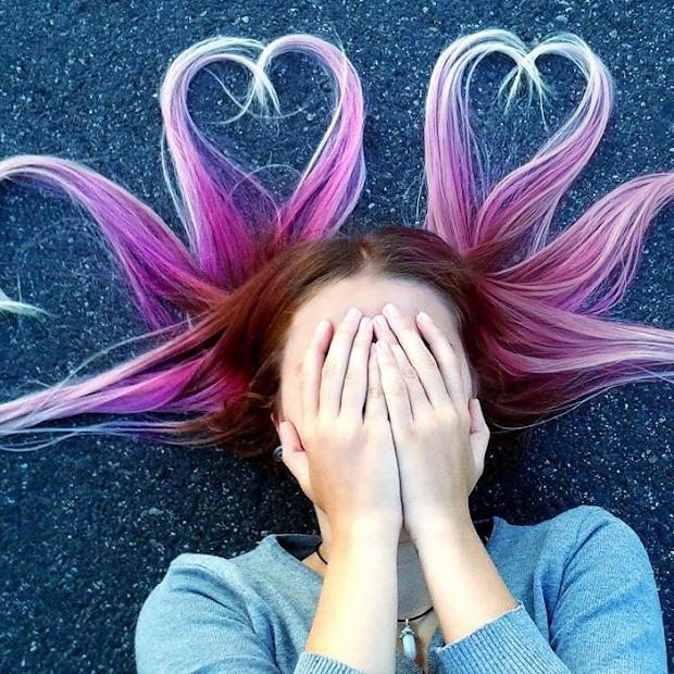 Nienaturalne kolory włosów, dlaczego nie?
