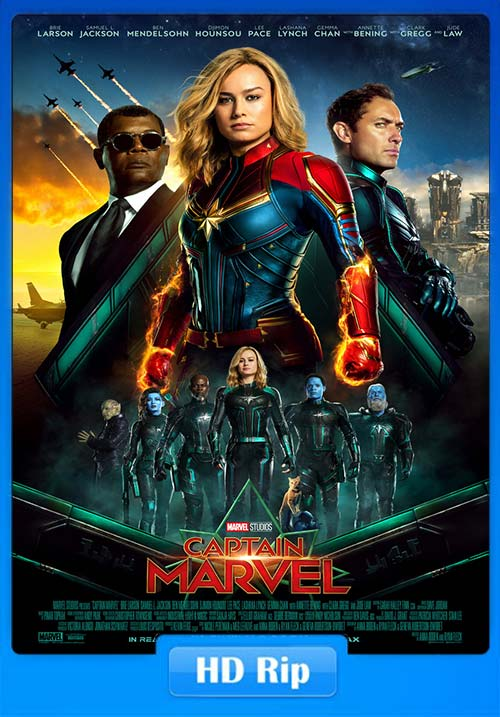 Captain Marvel Hindi 2019 720p HDTS Tamil Telugu Eng | 480p 300MB | 100MB HEVC