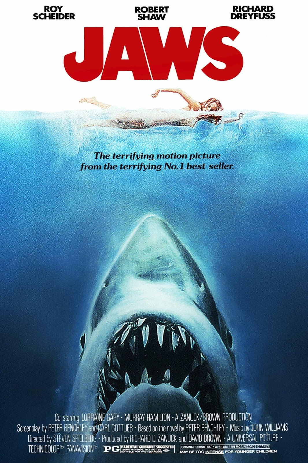 Jaws (1975) ταινιες online seires oipeirates greek subs