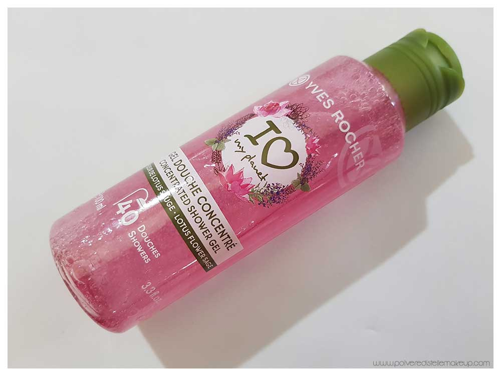 Gel Doccia Concentrato Melagrana e Pepe Rosa Yves Rocher I Love My Planet
