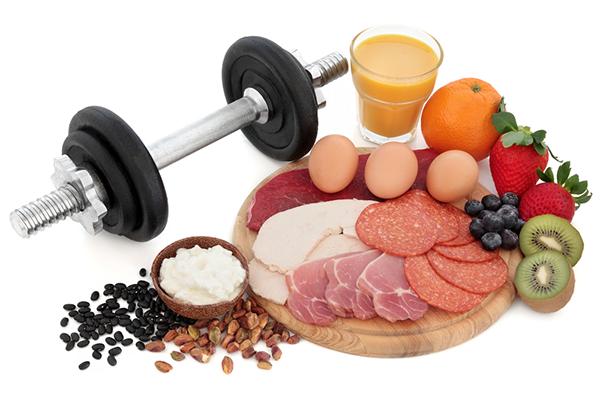 أفضل 10 مصادر البروتين لبناء العضلات
