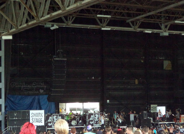 Asking Alexandria Vans Warped Tour 2015