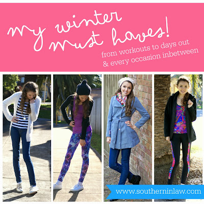 My Winter Fashion Must Haves - From workouts to everyday wear