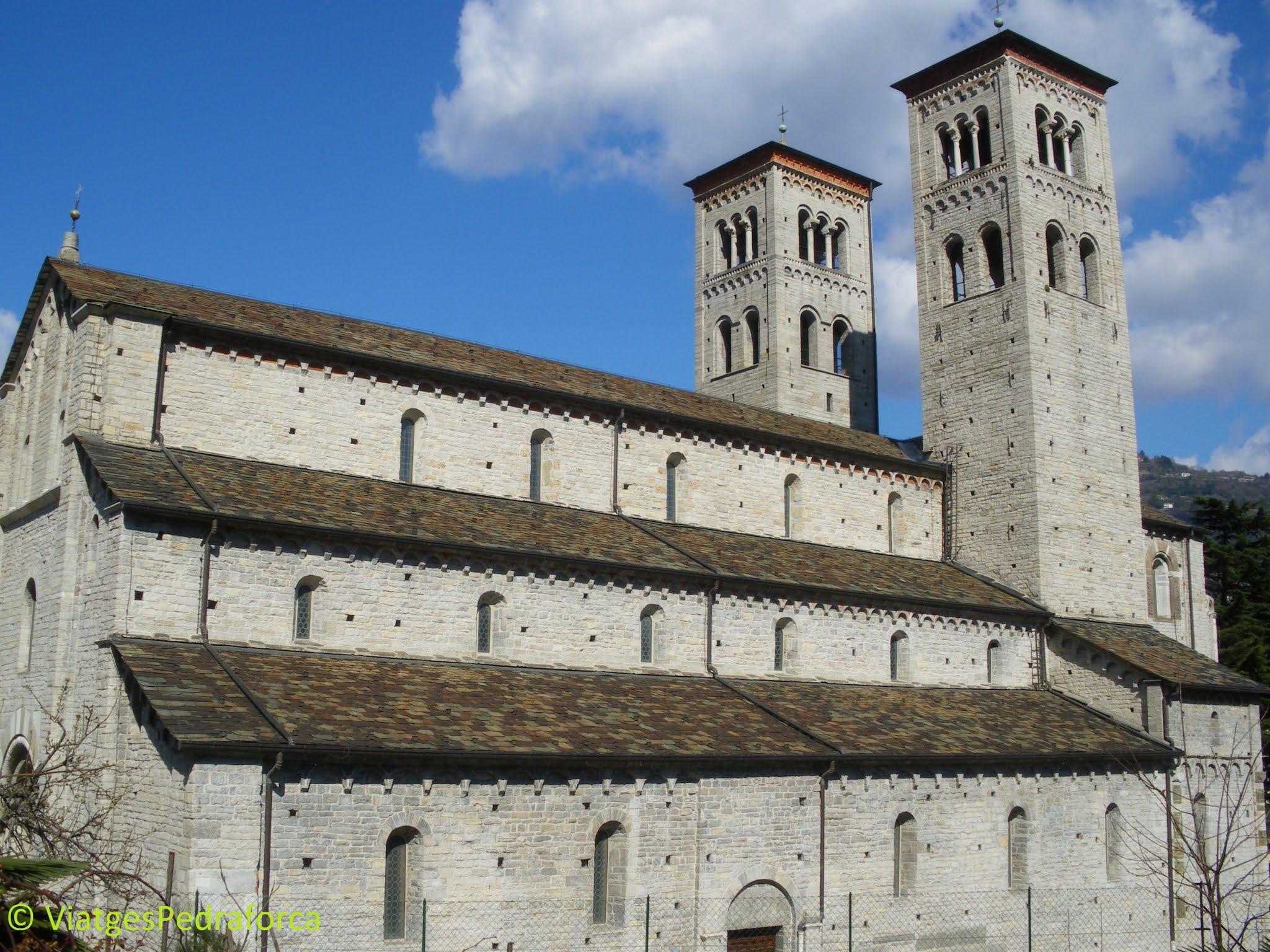 Art romànic, romànic llombard, Llombardia, ciutats amb encant, Alps italians, Itàlia