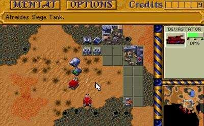 Dune 2 Game Screenshots 1992