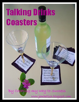 Talking Drinks Coasters