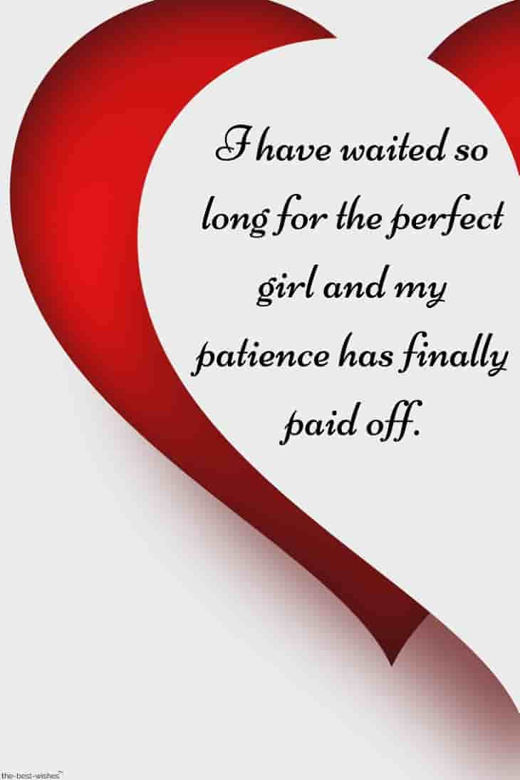 romantic love quotes for her with half heart image