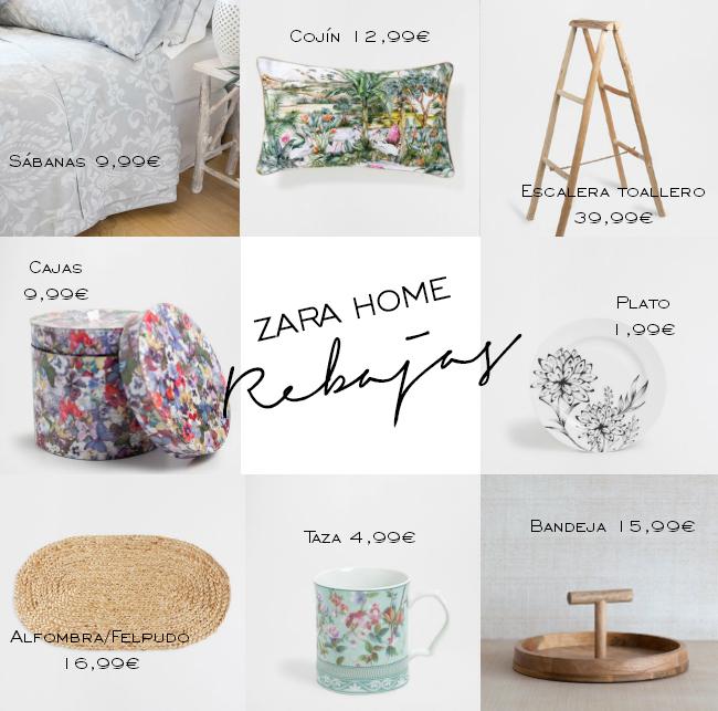 Rebajas en tiendas de decoración: Zara Home