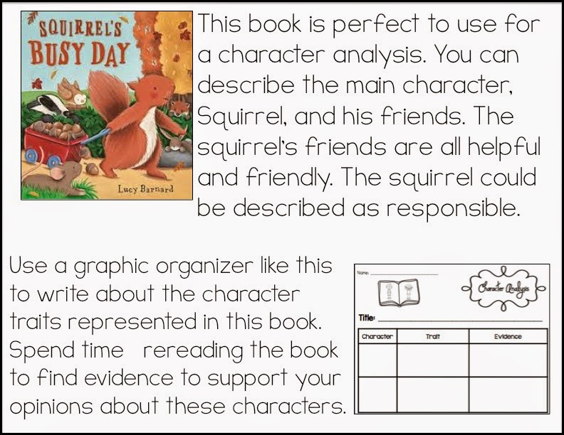 A character analysis in the book