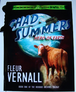Portada del libro Chad Summers: Hero of the Earth, de Fleur Vernall