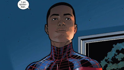 A mixed race Spiderman