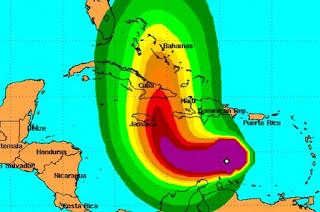 Matthew se vuelve huracán en el Caribe