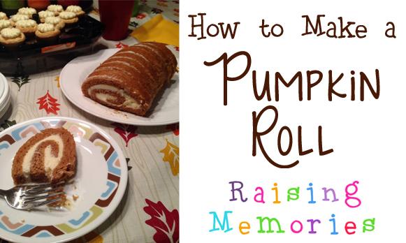 How to Make a Pumpkin Roll Video