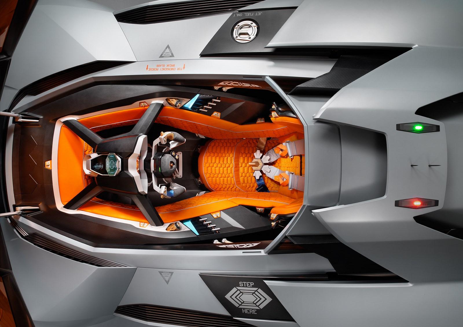 Lamborghini egoista  tecnología futurista y avanzada