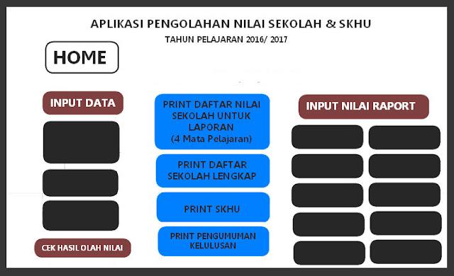 Aplikasi SKHU SD SMP SMA 2017