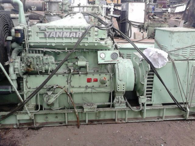 used Yanmar Marine Engines, Yanmar 6 HAL-HT generators