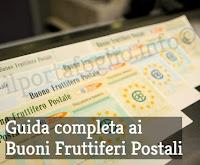 tipologie e interessi dei buoni fruttiferi postali