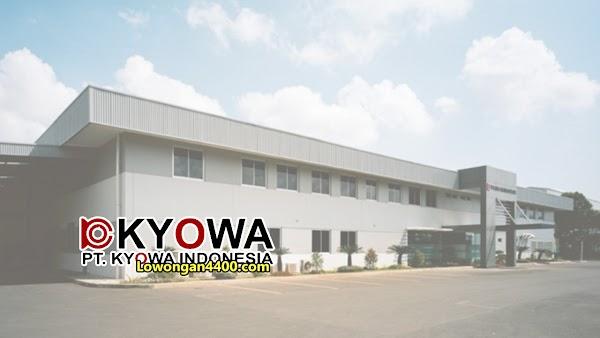 Lowongan Kerja PT. Kyowa Indonesia - Kawasan EJIP